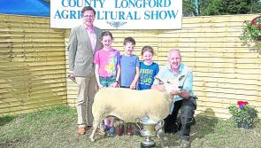Longford agricultural shows to receive €5,000 in funding