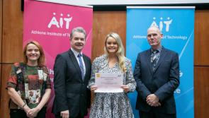 Edgeworthstown's Emma Kane recognised for outstanding academic achievement at AIT