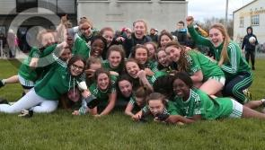 Clonguish U-18 ladies win the Longford Minor 'A' championship title