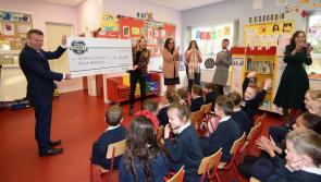 A 'Gala' gift of €10,000 for St. Safan's National School, Castlefinn