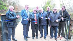 PICTURES   White Bridge is officially opened in Newcastle Woods