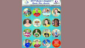 Overall 2019 Ganly's Longford Sports Star of the Year will be revealed at Friday's gala awards