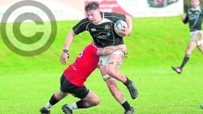 Longford Rugby Club tackle Tullow at CPL Park on Sunday