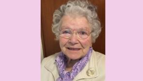 Longford's oldest citizen Anne Byrne, Ardagh dies peacefully in her 105th year