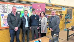Moyne CS metal work students are top of the class nationally