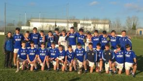 Mighty St Mel's Longford win the North Leinster Second Year 'A' title