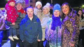 Record numbers gather to  turn on  Longford Christmas lights