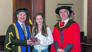 Academic achievement of Longford student celebrated at AIT ceremony