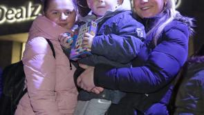 GALLERY| Huge crowds gather to witness turning on of Christmas lights in Longford town