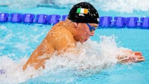 Another great swim from Longford's Darragh Greene at the European Championships