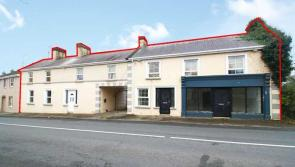 Mixed use residential and retail property in Longford sells for €91,000 at BidX1 online auction