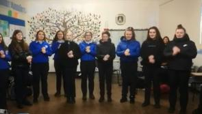 WATCH| Students of Scoil Mhuire bring festive cheer with Christmas song