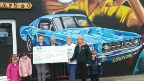 Longford café raises €1,350 for LARCC Cancer Support Sanctuary