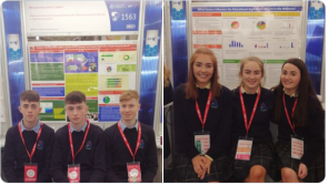 Ballymahon students win an award at BT Young Scientist and Technology Exhibition