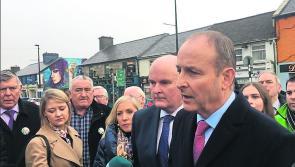 WATCH| Fianna Fáil leaderMicheál Martin visits Longford