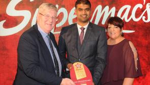 Longford winner at the Supermac's All Star Awards