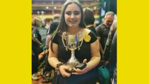 WATCH | Longford delight as singer Erin Ross wins All-Ireland Scór na nÓg title at INEC, Killarney