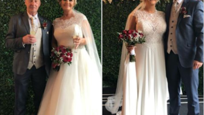 Mother and daughter have a double wedding on Valentine's day