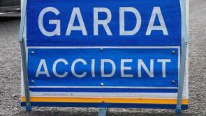 Emergency services at the scene of a road accident outside Ballymahon