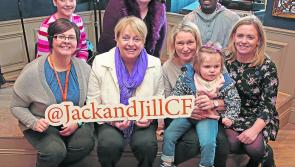 Longford mum tells of 'massive' help Jack & Jill have been to her and three-year-old daughter