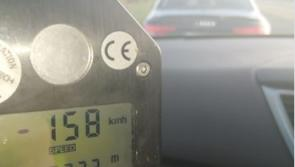 Penalty points and fine for midlands motorist caught speeding