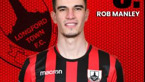 New Longford Town striker Rob Manley looking to score crucial goals