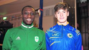 Superb fourth place finish for Longford athletes Cian McPhillips  and Nelvin Appiah