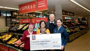 Longford Acorn Project receives €500 donation from staff at AldiLongford