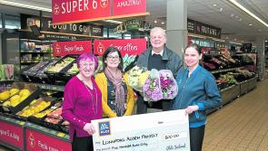 Longford Acorn Project receives €500 donation from staff at Aldi Longford