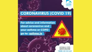 Asthma Society's advice on #Covid19 to the 3,003 people in Longford living with asthma