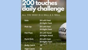Longford clubs urge their members to take on the '200 touches daily challenge' to alleviate #Covid19 boredom
