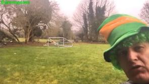 WATCH | We all need a lift on St Patrick's Day: Longford's Jimmy Jests makes the most of staying in
