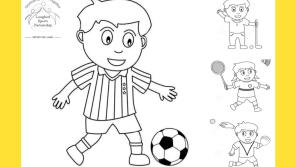 Download our free Longford Sports Partnership colouring page and enter our competition
