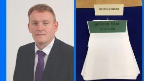 Longford has a new Senator as Fine Gael's Micheál Carrigy secures emphatic Seanad success
