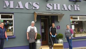 Mac's Shack in Kenagh delivers 30 free meals to people in the parish