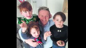 We're very proud of you, Daddy! Longford's Micheál Carrigy elected to Seanad