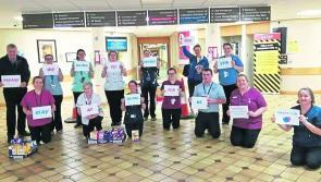 Easter eggs donated to  frontline heroes in Cavan General Hospital and St Joseph's Hospital in Longford
