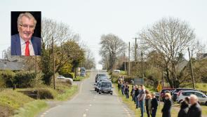 Family and friends bid a poignant farewell to highly respected Longford teacher Pat O'Sullivan