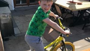 Longford boy endeavours to raise funds for Laura Lynn by cycling