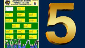 POLL | Vote for your right half back on Longford's Dream Team 2000 - 2020