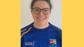 Longford ladies football player Eimear O'Brien advises her colleagues to 'stay safe'