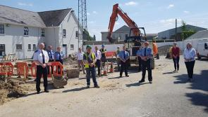 Upgrade and renovation works resume at Longford Garda Station