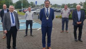 Cllr Colm Murray ready to face the challenge as Cathaoirleach of Ballymahon MD