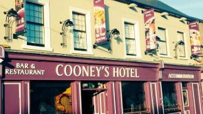 WATCH | Ballymahon's Cooney's Hotel reopens with social distancing measures in place