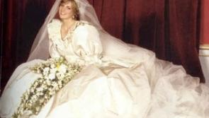 New Princess Diana wedding dress patterns and pieces go on display at Newbridge Silverware