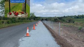 Longford community rallies to raise €10,000 towards completion of Ballinamuck footpath