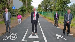 New, safe  cycle and walkway opened in Edgeworthstown