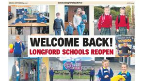 GALLERY | First day at school excitement in Longford