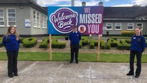 Árdscoil Phádraig Granard delighted to reopen its doors as students return