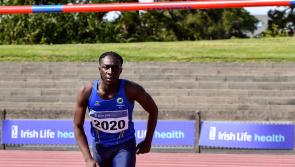 Longford's Nelvin Appiah aiming for success at Irish Life Health National U20 Athletics Championships